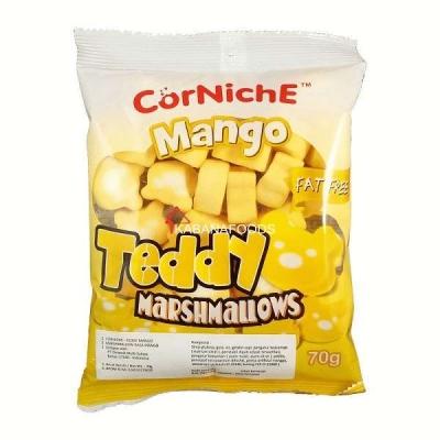 Corniche Mango Teddy Marshmallow 70g