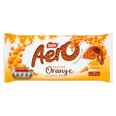 Nestle Aero Orange Chocolate 100g