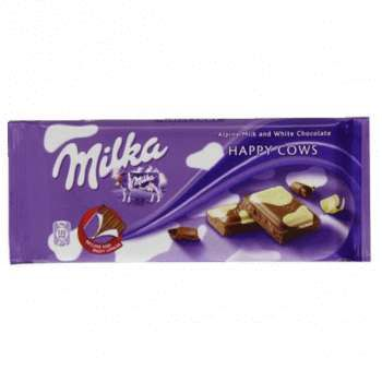 Milka Happy Cow Chocolate (100 грамм)