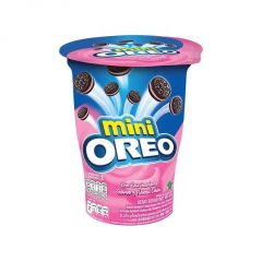 Oreo Mini Strawberry Cookies 61,3g