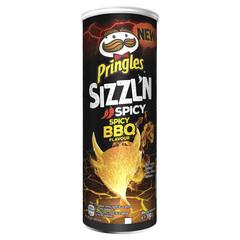 Чипсы Pringles Flame BBQ 160гр