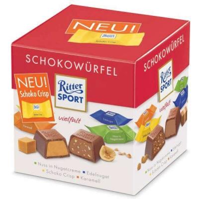 Ritter Sport Choco vielfalt 176 грамм
