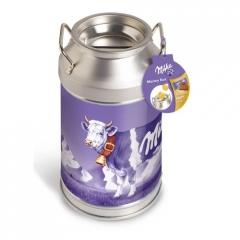 Milka Money Box Бидон-копилка с шоколадом 150 гр