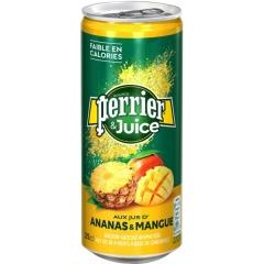 Газированный напиток Perrier Ананас Манго 250мл