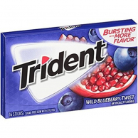 Trident Wild Blueberry Twist