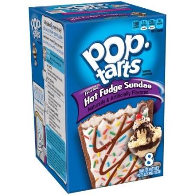 Печенье Pop Tarts 8 PS Frosted Hot Fudge Sundae 384 грамм