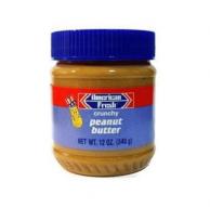 Паста арахисовая American Fresh с дробленым орехом 340 гр