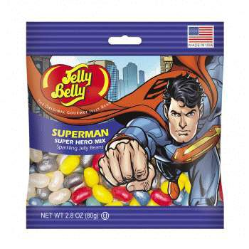 Superman™ Jelly Beans 2.8 oz Bag