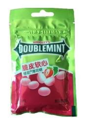 Жевательная конфета «Doublemint» со вкусом клубники 40 гр