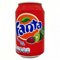 Fanta Strawberry and Kiwi (330 мл)