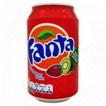 Fanta Strawberry and Kiwi (330 мл)