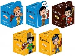 LOVE IS жев. конфеты микс Мальчики с магнитиком 105 гр