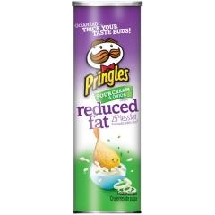 Pringles Sour cream & Onion (reduced fat) 158g