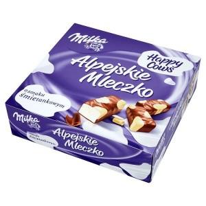 Milka Alpine Milk Happy Cows (330 грамм)