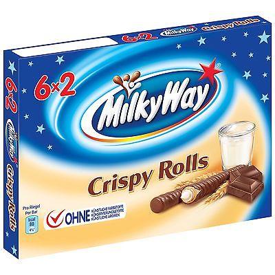 Milky Way Crispy Rolls 6x2 (150 грамм)