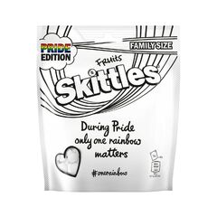 Драже Skittles Fruits White Pouch 196г