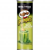 Чипсы Pringles Screamin' Dill Pickle 158 гр