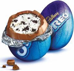 Cadbury Шоколадное Пасхальное Яйцо Кедбери Орео 31гр