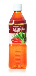 Алоэ Вера гранат 0,5 литра ПЭТ