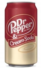 Dr.Pepper Cream Soda 0,355л