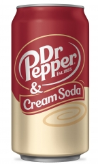 Dr.Pepper Cream Soda 0,355л
