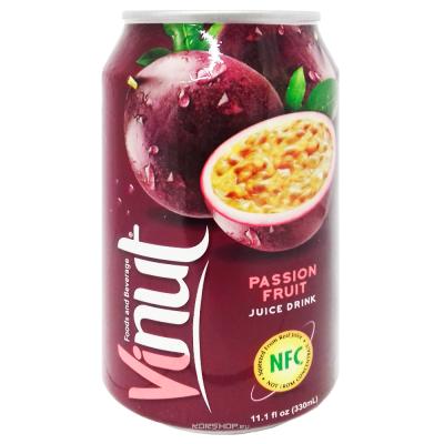 Напиток VINUT со вкусом маракуйя 330мл