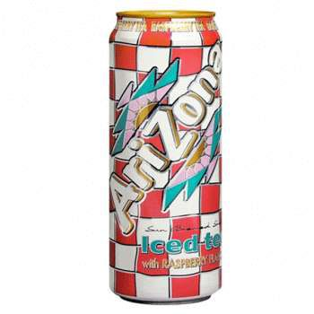 Напиток Arizona Raspberry Tea 0,34л