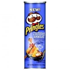Чипсы Pringles Parmesan & Roasted garlic пармезан и жареный чеснок 158 гр