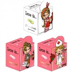 LOVE IS жев. конфеты микс Девочки с магнитиком 105 гр