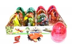 """Яйца с карамелью и игрушкой """"AIR FORCE"""" (самолеты) 6гр"""