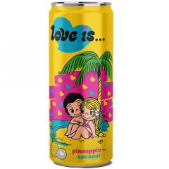 Газированный напиток LOVE IS Ананас и Кокос 330мл