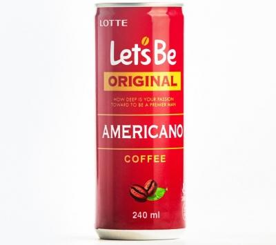 Кофе Let's be Americano 240 мл