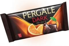 Темный шоколад Pergale с апельсиновой начинкой 100 гр