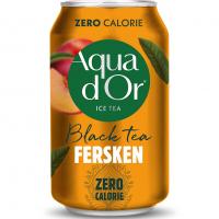 Aqua D'Or Black Tea Peach 330 мл