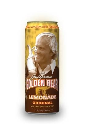 Arizona Golden Bear Lemonade Original with Ginseng and Honey 0,680 ml