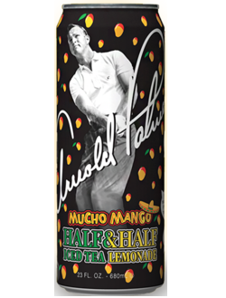 Напиток Arizona Arnold Palmer Mucho Mango 0,68л