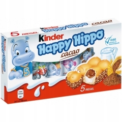 kinder Happy Hippo какао bisquit 103,5гр