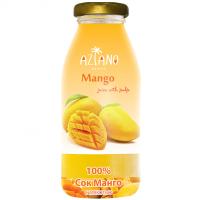 Aziano 100% сок Манго с мякотью стекло (250мл)