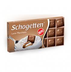 "Шоколад Schogetten Latte Macchiato ""Латте Макиато"" (100 грамм)"