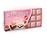 """Шоколад Trilogia Strawberry """"Трилоджия-Клубника"""" (100 грамм)"""
