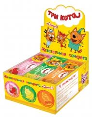 Жевательная конфета Три Кота с омега-3 11гр