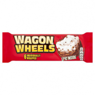 Бисквит Wagon Wheels 228гр