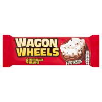 Бисквит Wagon Wheels 228гр