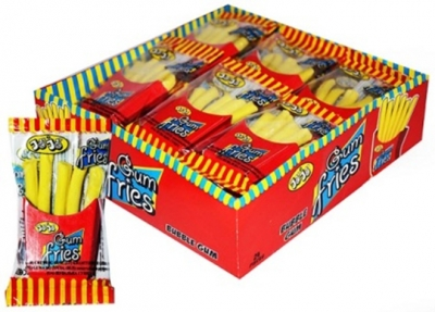 Fries Gum with Candy Ketchup JoJo 25гр