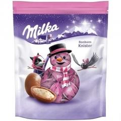 Новогодние конфеты Шоколадные шарики Bonbons Popping Candy Milka 86 гр