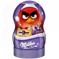 Шоколадные конфеты Milka Angry Birds с сюрпризом Red 81 гр