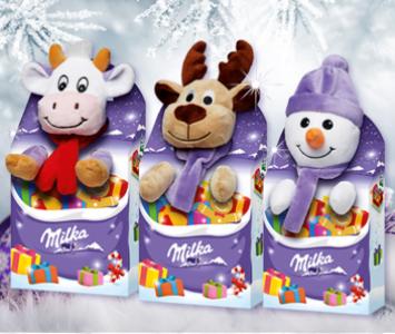 Milka MAGIC MIX Плюшевая игрушка+Шоколад 96гр
