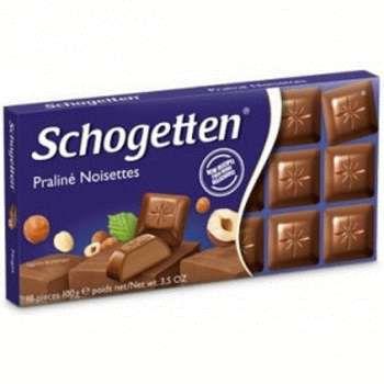 Молочный шоколад Schogetten Praline Noisettes (100 грамм)