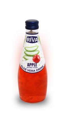 """Aloe vera drink Apple Flavor """"Напиток Алое вера с ароматом яблоко"""" 290мл"""
