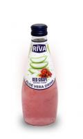 "Aloe vera drink Red Grape Flavor ""Напиток Алое вера с ароматом красного винограда 290 мл"